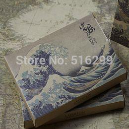 Wholesale Mike86 Katsushika Hokusai Painting Post Card antique Gift PK