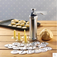 automatic cake machine - YoHere kitchen baking tools cookie extruder automatic cutters press machine biscuit mould cake making decorating squeezer gun