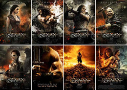 Wholesale Postcard Conan the Barbarian Warner Bros Jason Momoa Rachel Nichols Rose amp Retail