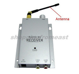 Wireless Mini pinhole micro CCTV security surveillance A V audio 6 IR LED RC Camera receiver kit