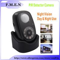 auto audio recorder - Q2 LED Light PIR Detector Auto Video Audio Recorder HD DVR inch TFT screen Car Camera Recorder