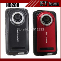 Wholesale 2015 New HD200 waterproof camera LCD screen p mp x hdmi video recorder sport dv mini camcorders digital hd camera