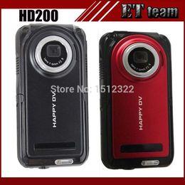 Wholesale 2015 New HD200 waterproof camera LCD screen p mp x hdmi video recorder sport dv mini camcorders digital hd camera
