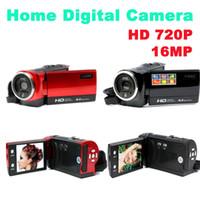 Wholesale 16MP HD P Digital Camera TFT Screen Photo Camera x Digital Zoom Digital Cameras Video Recorder Mini Camcorders