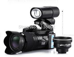 Wholesale Explosion models D3200 full HD high definition digital SLR camera million pixels X optical zoom HD LED headlamp