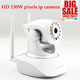 vente caméra de sécurité de pixel 130W 720P IP Wifi caméra Avec TF / Micro SD Slot pour carte mémoire gratuite Iphone App Android Software à partir de logiciel caméra de sécurité ip fabricateur