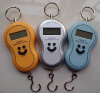 Wholesale Free EMS DHL Pieces Mixed KG Hanging Electronic Balance Digital Hanging Fishing Scale