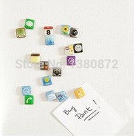app fridge - New Funny phone App Fridge Magnets Apps Icon Refrigerator Memo Magnet YO MO73