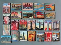 america fridge - 24 America New York Attractions magnetic fridge magnets Cute Baby Fridge Magnet Refrigerator Magnets