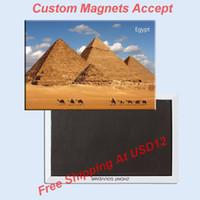 animal pyramid - 10K Landmarks Magnets The Pyramid of Egypt Tourist Metal Fridge Magnet