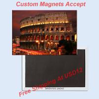 attractions travel - Souvenir Magnets Colosseum Souvenir Photo Fridge Magnet Travel Gift tourist attractions
