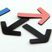 arrow boards - 4 cm Color Arrow Point Board Magnetic Stickers Creativer Fridge Magnet Home Decoration FM111