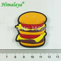 beef cheese - 3D Resin Hamburger Fridge magnet cheese beef tomato refrigerator Sticker aimant imanes de nevera decorative