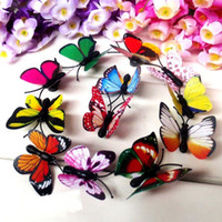 animal car magnets - 12x D Butterfly Fridge Whiteboard Magnet Car Home Room Wall Decorative Sticker