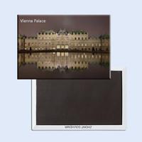 austria photos - Decoration Gift Photo Magnets Home Decor Stickers Austria Vienna Palace Tourist Metal Fridge Magnet SFM5193