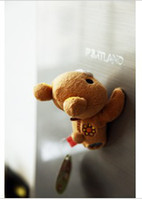 acting cartoons - Japanese household act the role ofing is tasted easily bear Cute cartoon creative refrigerator magnet stick fluffy little doll