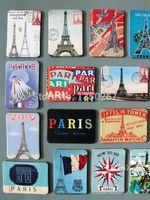 animal sight - home decoration Pairs Eiffel Towel sights fridge magnets set la tour Eiffel magnetic stickers