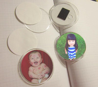 acrylic magnetic frames - DIY Acrylic Photo Frame Fridge Magnets MINI Picture Frame with Magnetic Sticker Size mm