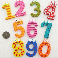 ba baby - AB Wooden Fridge Magnet Education Learn Cute Baby Kid Toy Set Number BA
