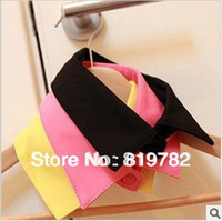 men shirts and ties - 2015 new men and women shirt detachable collars shirt fake collar Necklace Apperal accessory