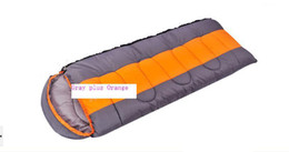 Hot sale Outdoor lovers sleeping bag spring and autumn sleeping bag can be connected #0202-70
