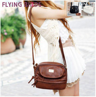 Wholesale Flying birds new casual all match pu leather handbag women bag women messenger bags shoulder bag LS1754c