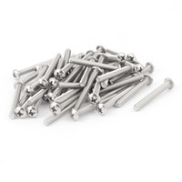 Wholesale 50 Stainless Steel Phillips Truss Button Head Machine Screws x quot