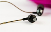 ambient noise headphones - JDBF N90 Dynamic mm In ear Earphone Headset Headphones blocks ambient noise for Tablet PC iPhone S C iPod Cellphone