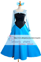 Anime Costumes ariel cosplay - New Arrival The Little Mermaid Adult Ariel Cosplay Costume