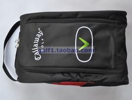 Envío Gratis nuevo Golf Zapatos Bolsos, Zapatos Golf del paquete, de alto grado de material de nylon, ligero y práctico de 3 colores