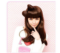 Wholesale Hot Lady GaGa Vogue hair bow with clip headband with hair bow clip
