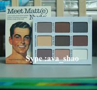 the balm cosmetics - 2015 Brand makeup beauty cosmetics the balm meet matte nude eyeshadow palette sombra make up eye shadows maquillaje dropship