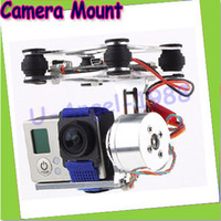 aerial camera mount - HK Newest DJI Phantom Brushless Gimbal Camera Mount w Motor amp Controller for Gopro3 FPV Aerial Photography