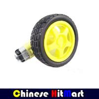 arduino smart car - 8X v dc mm Robot Car arduino gear TT Motor wheel smart car Micro Gear Motor tracking Obstacle Avoidance Motor RR04