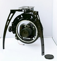 axis pan tilt zoom camera - HY Three Axis Aerial PTZ Pan Tilt Zoom Rolling Disc Triaxial Aerial Camera Mount