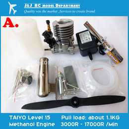 Wholesale Methanol Engine Set for DIY Model Aircraft New Model Aircraft Motor Made in Japan