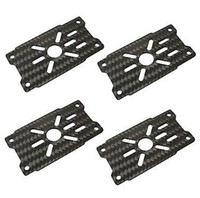arm tracking - 4pcs Carbon Fiber Brushless Motor Mount Plate mm Arm for RC Multicopter Tracking Number
