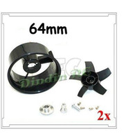 antenna unit - 2xNEW mm duct fan unit for most ducted fan jet RC EDF