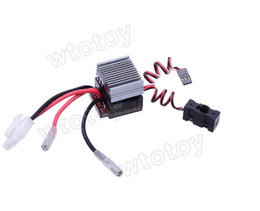 Wholesale High voltage version A Large Radiator Brush ESC for On road RC Car Truck TD