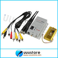 rc transmitter and receiver - RC Video Transmitter Ghz mW Channel Wireless Video Transmitter and Channel Receiver Professional Kit