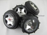 beadlock rims - Baja Sand Tyre set Front amp Rear with heavy duty beadlock ring and chrome rim