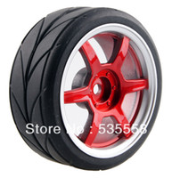 antenna rubber - 4PCS RC Rubber Tires Tyre amp Wheel Rim for hsp hpi On Road Car