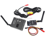 audio combo - 2015 NEW FPV G mW Channel Wireless Audio Video A V Transmitting and Receiving System Combo Module for FPV TS832 RC832