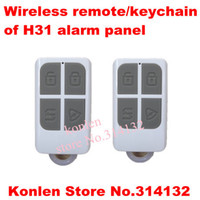alarm controller panel - remote controller controle remoto keychian for H31 touch psn gsm home alarm control panel
