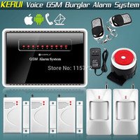 auto dialer control systems - New GSM MHz Alarm Systems Security Home Quad Bands Auto Dialer GSM Alarm System Android iPhone APP Controlled