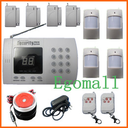 Wholesale New Most Advanced Zone auto Dialer Wireless Home office Security Alarm System with LED Display H313