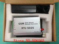 Wholesale GSM Gate Opener Remote Controller GSM Remote Switch Door Opener with SMS RTU5025 Freeshipping