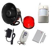 Wholesale Wireless horn alarm horn siren spot alarm system wireless home siren alarm for home security alarm system