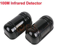 active detector - Perimeter Burglar Alarm m Photoelectric Twin Beams Detector Active Infrared Detector Alarm Dectector Baluster Sensor