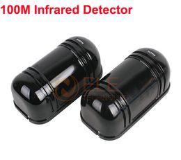 Wholesale Perimeter Burglar Alarm m Photoelectric Twin Beams Detector Active Infrared Detector Alarm Dectector Baluster Sensor